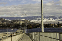 Kelowna Bridge Stock Image