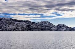 Kelowna del lago Okanagan Immagini Stock