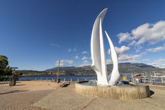 Kelowna do centro Imagem de Stock Royalty Free
