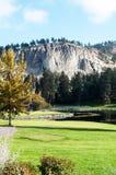 Kelowna Golf and Country Club. Golfing green Stock Photo