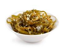 Kelp ( laminaria ) in a bowl. Stock Photography