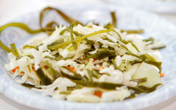 Kelp salad Royalty Free Stock Image