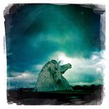 Kelpies Stock Foto