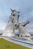 Kelpies Stock Fotografie