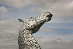 Kelpies fotografia royalty free