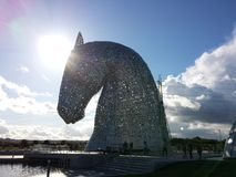 Kelpies fotografia de stock royalty free
