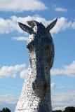 Kelpies, Falkirk Fotografie Stock Libere da Diritti