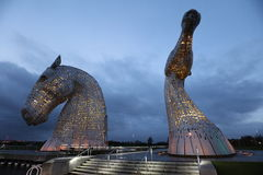 The Kelpies Falkirk Stock Photos