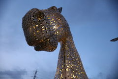 The Kelpies Falkirk Stock Images