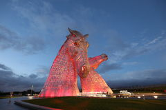 The Kelpies Falkirk Royalty Free Stock Photos