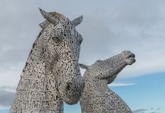 The Kelpies Falkirk Scotland Royalty Free Stock Images