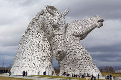 The Kelpies Royalty Free Stock Photos