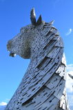 Kelpies Stock Image
