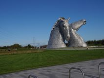 The Kelpies stock images