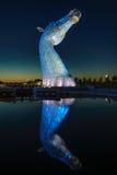 The Kelpies Horse statue, Falkirk, Scotland Royalty Free Stock Photography