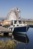 Kelpies Royalty Free Stock Photography