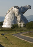 Kelpies portrait Stock Photography