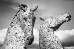 The Kelpies, Scotland Royalty Free Stock Image