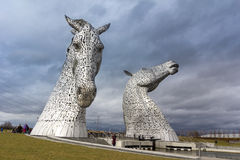The Kelpies Sculpture Stock Photos