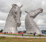 The Kelpies Royalty Free Stock Photography