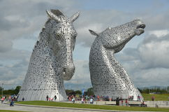 The Kelpies Royalty Free Stock Image
