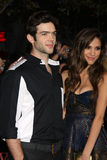 Kelsey Chow, Ethan Peck Stock Photo