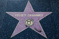Kelsey Grammer Hollywood Star Royalty Free Stock Photography
