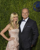 Kelsey Grammer at the 2015 Tony Awards. Kayte Walsh and husband, actor Kelsey Grammer, arrive on the red carpet for the 69th Annual Tony Awards at Radio City Stock Images