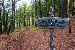 Kelsey Trailhead Stock Image