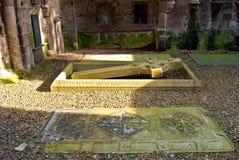 Kelso Abbey Arkivbilder