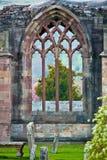 Kelso Abbey Arkivfoto
