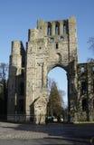 Kelso Abbey ruin Stock Image