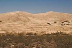 Kelso Dunes. This is a picture of the Kelso Dunes from the Mojave National Preserve stock photography