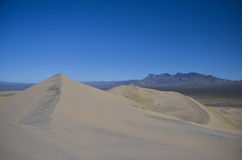 Kelso dunes. At the mojave desert, california Royalty Free Stock Photos