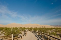 Kelso Dunes Royalty Free Stock Photography