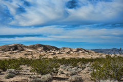 Kelso dunes in Mojave National Monument Stock Photo