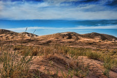 Kelso dunes in Mojave National Monument Stock Photography