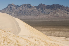 Kelso sand dunes and providence mountains Stock Photo