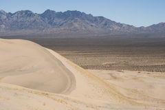 Kelso sand dunes and providence mountains Stock Images