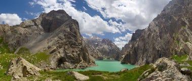 Kelsu lake. High-mountains loch (altitude about 3500 m). Kyrgyzstan Stock Photography