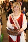 Keltenprinzessin - Schoonheidskoningin royalty-vrije stock foto's