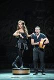 Keltisch Afrika-De Ierse Nationale Danstapdans Royalty-vrije Stock Foto's