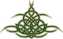 Keltisch decoratief patroon Stock Fotografie