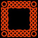 Keltisch frame Royalty-vrije Stock Foto's