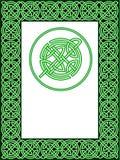 Keltisch frame patroon Stock Foto's