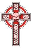Keltisch kruis Stock Foto's