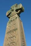 Keltisch kruis (Portret) stock foto