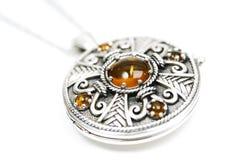 Keltisch medaillon stock afbeeldingen