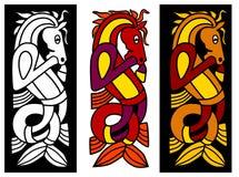 Keltisch ornamentelement royalty-vrije illustratie