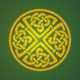 Keltisch ornamentsymbool Stock Afbeeldingen